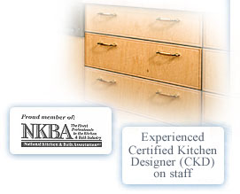 We are are a proud member of the National Kitchen and Bath Association.